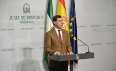 Juanma Moreno presenta un Gobierno para el cambio con cuatro independientes y afines del PP