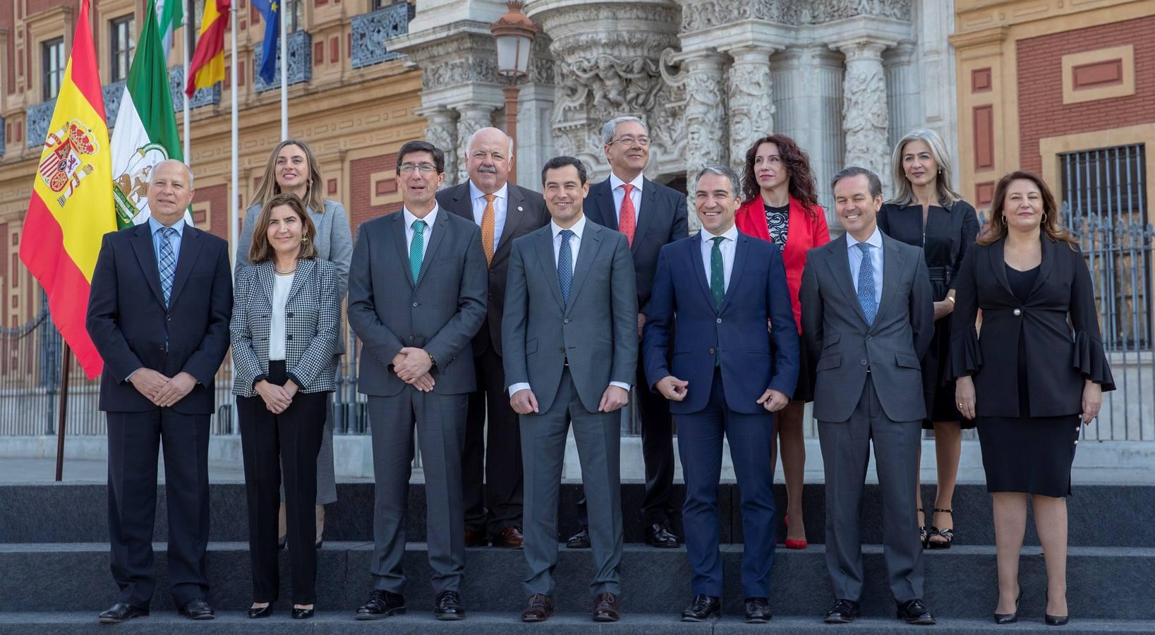 Toma de posesión de los nuevos consejeros de la Junta de Andalucía