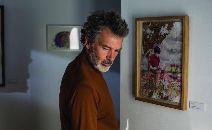 Rodaje de 'Dolor y Gloria', la nueva película de Almodóvar protagonizada por Antonio Banderas