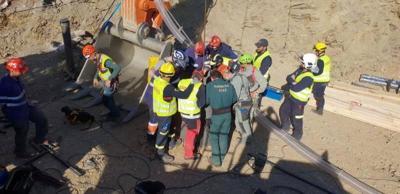 Así ha sido el rescate de Julen, el niño de dos años caído en un pozo en Totalán