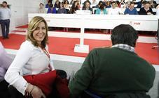 El PSOE aparca el debate sobre el futuro de Susana Díaz, que recibe el apoyo de Felipe González