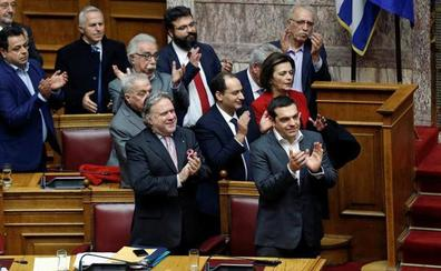 El Parlamento griego valida el nuevo nombre de Macedonia del Norte