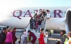 Qatar Airways refuerza su ruta a Málaga y Ryanair volará a Burdeos, Cardiff y Milán