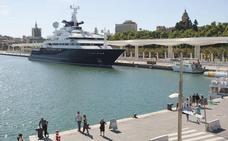El Puerto vuelve a convocar el concurso de la marina de megayates en el muelle uno
