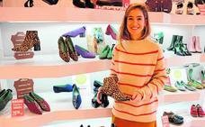 Los zapatos de Pilar Martín