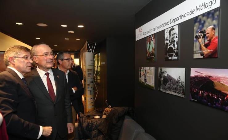 Así ha sido la inauguración de 'Málaga en el objetivo', las imágenes del deporte local