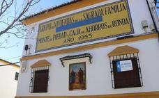 Los murales de la Caja de Ahorros, los testigos de la historia de Ronda