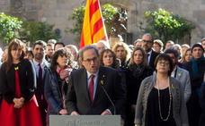 Torra llama a la calma en las protestas y apela a la unidad del soberanismo
