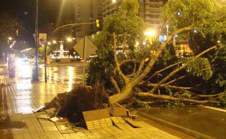 Se cumple una década de la aparición de un tornado que causó daños severos en el barrio de San Andrés