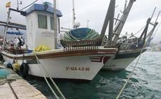 El temporal obliga a la flota pesquera de Málaga a permanecer amarrada por motivos de seguridad