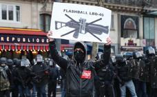Nuevos incidentes en las protestas de los 'chalecos amarillos' en Francia