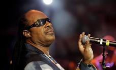 La trastienda del primer concierto de Stevie Wonder en España