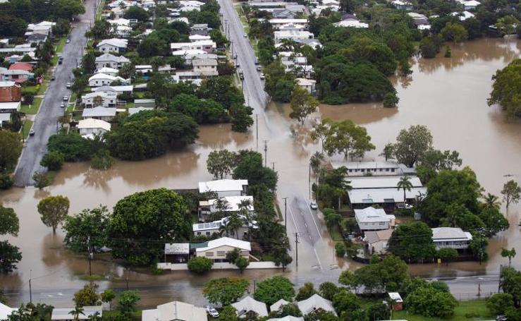Las inundaciones en Australia, en imágenes