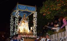 La procesión de la Candelaria en Benagalbón