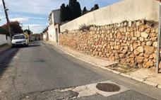 Asfalto deteriorado en El Cantal