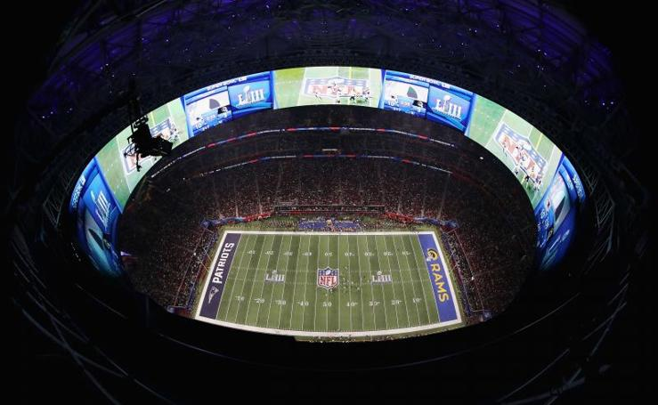 El espectáculo de la Super Bowl en imágenes