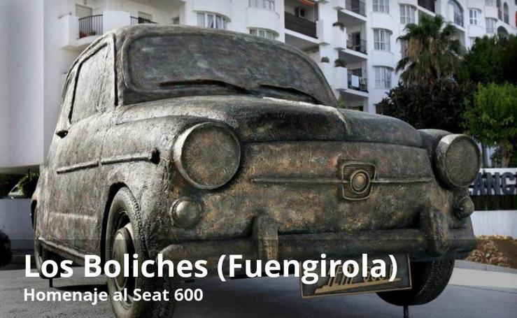 Algunas de las rotondas más singulares de la provincia de Málaga