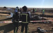 Muere una instructora y su alumno al estrellarse su avioneta en Madrid