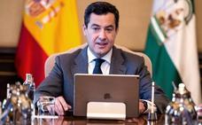 Juanma Moreno acusa a Pedro Sánchez de traición, mientras Susana Díaz calla