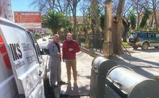 Contratan un empresa externa para el mantenimiento de contenedores soterrados en Ronda