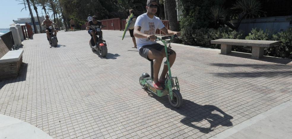 Marbella trabaja en una ordenanza para regular el uso de los vehículos de movilidad personal
