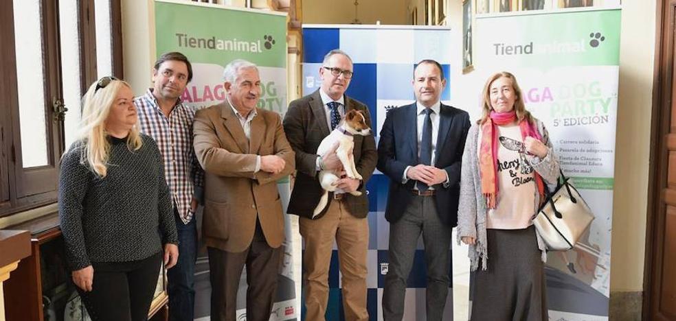 Málaga Dog Party, la gran fiesta con perros, celebrará su quinta edición los días 11 y 12 de mayo