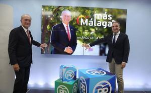 'Más Málaga', lema del PP para intentar conservar la capital