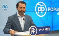 El malagueño José Ramón Carmona, portavoz adjunto del PP en el Parlamento andaluz