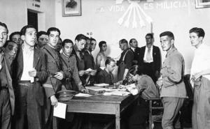 Malagueños en la División Azul: un abrigo y un par de botas para compartir entre 10 soldados