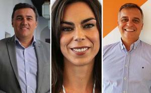 Los diputados malagueños de Cs Hernández White, Pardo y Pareja serán portavoces en comisiones del Parlamento