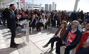 Daniel Pérez dice que es «la única alternativa» para desbancar al PP del Ayuntamiento de Málaga