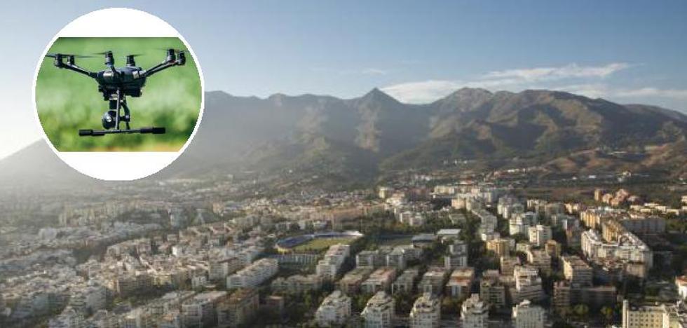 La Policía Local de Marbella incorpora drones para vuelos de inspección por todo el término municipal