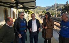 El PSOE inicia gestiones para que Cortes de la Frontera vuelva a tener circulación ferroviaria tras las lluvias del pasado otoño