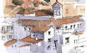 Málaga a trazos: El atardecer de Lady Louisa