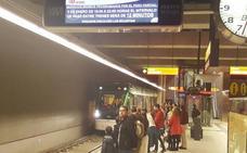 Al metro de Málaga le faltan tres millones de pasajeros