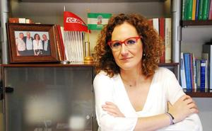 Nuria López, secretaria general de CC OO Andalucía: «Si las auditorías en la Junta acaban en despidos de trabajadores, nos tendrán en contra»