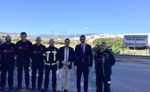 Mijas reserva suelo para el nuevo parque de bomberos en Las Lagunas