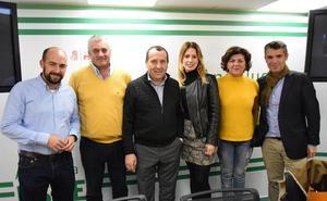 Antonia García, nueva portavoz del PSOE en la Diputación de Málaga