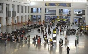 El aeropuerto de Málaga arranca el año ganando un 8,4% de pasajeros