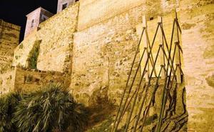 Ciudadanos exige un plan que acabe con los derrumbes y consolide el conjunto Alcazaba-Gibralfaro