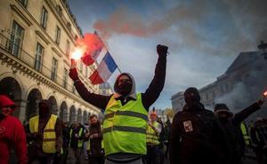 Condenadas 1.795 personas por los disturbios de los 'chalecos amarillos'