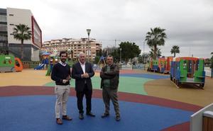 El Ayuntamiento de Málaga invierte 5,2 millones en la construcción o reforma de parques infantiles desde 2015