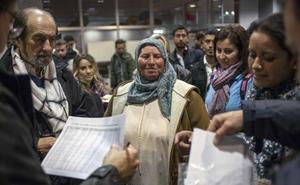 Málaga ha duplicado las peticiones de asilo en tres años