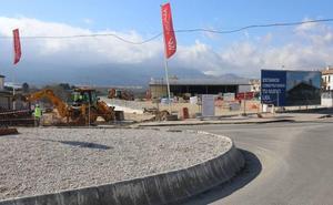 Las obras de la superficie comercial de Lidl en Ronda, en su recta final