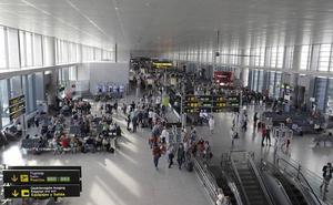El aeropuerto de Málaga comienza el año con un incremento del 8,4% de pasajeros