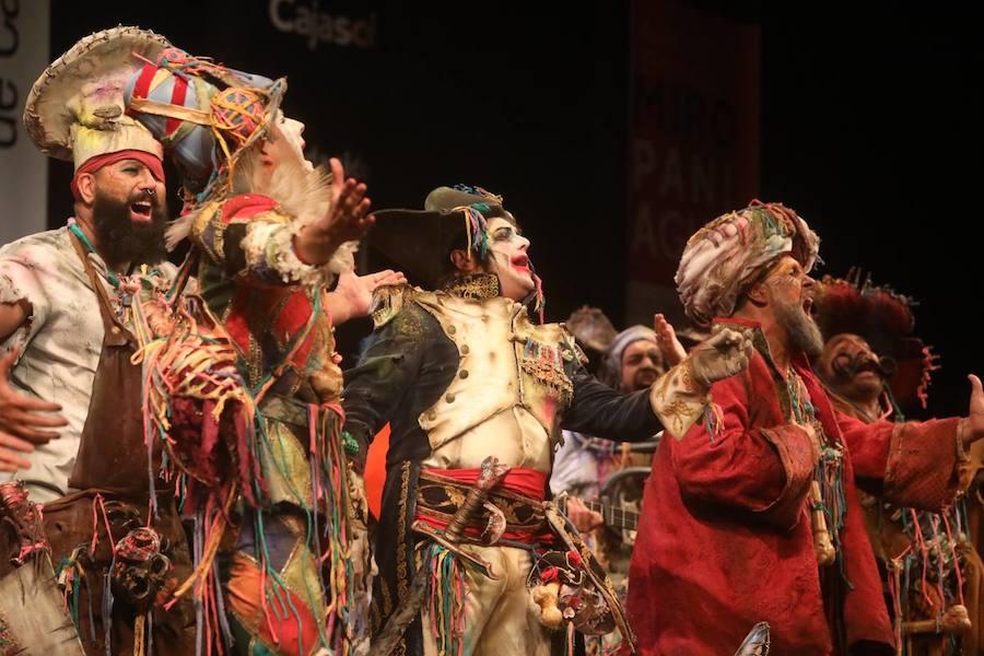 Ronda refuerza su Carnaval con la actuación de agrupaciones de las principales figuras de la fiesta en Cádiz