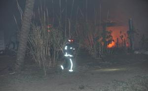 El establecimiento de playa incendiado en Marbella contaba con vigilancia