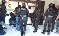 A prisión cinco de los 29 detenidos en la operación contra un grupo cercano al clan de los Castañas en Estepona