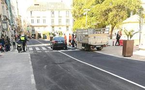 Concluye la reparación de la calzada sur de la plaza de La Merced