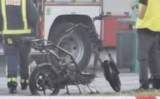 «Si llega a explotar la batería de la moto lo mismo estamos hablando en el hospital»